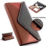 Handy Schutz Tasche im Portmonee Design für Apple iPhone 6 PLUS / 6s PLUS Croco Look Brieftasche Smartphone Cover Clutc