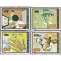 haute-volta 467-470 (complète.Edition.) 1973 50 Années interpol (Timbres pour les collectionneurs)