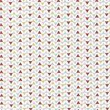 HIGGS & Triga Dreieck - Pastell - 100% Baumwolle Stoff