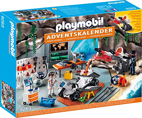 Playmobil Adventskalender Spy Team Werkstatt