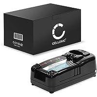 subtel® Chargeur de Qualité Compatible avec Hitachi BCL1415 / BCL1430 / EBL1430 / EBM1430R (7.2V / 9.6V / 12V / 14.4V / 18V) Chargeur Câble Secteur Noir