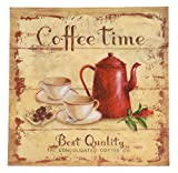 Coffee Time Rustikaler Stil 3-lagig 20Papier Servietten Servietten 33x 33cm 33x 33cm