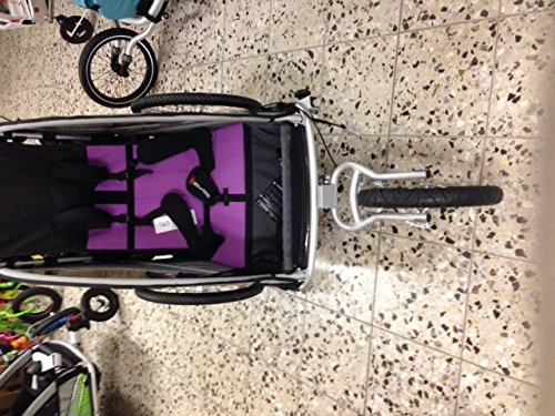 Qeridoo Sitzverkleinerer für Kinderfahrradanhänger, Babysitz - 2