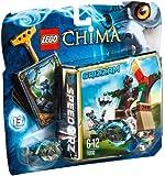 Lego Legends of Chima - Speedorz - 70110 - Jeu de Construction - La Tour Suprême