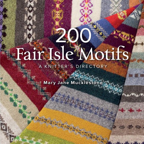 Stricken Mary Janes (200 Fair Isle Motifs: A Knitter's Directory)