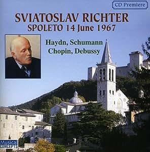 Sviatoslav Richter, Spoleto 14 June 1967: Haydn, Schumann, Chopin, Debussy