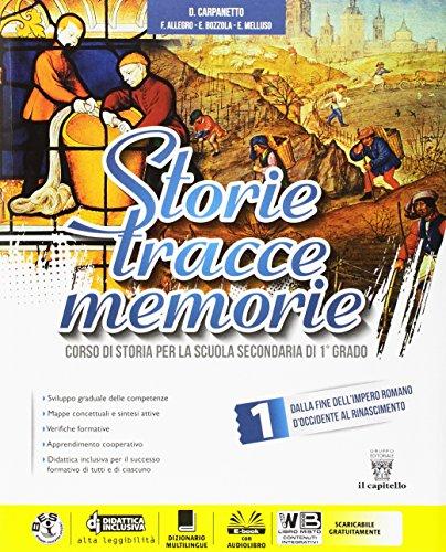 Storie tracce memorie. Con Competenze. Per la Scuola media. Con DVD-ROM. Con e-book. Con espansione online: 1