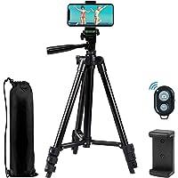 Phone Tripod EVERESTA 42 Inch 360 flexible Smartphone Tripod,Also Use as Camera Tripod,…