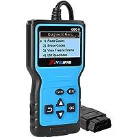 OBD2 Diagnosegerät Universal,Profi KFZ Diagnosegerät Scanner Automotor Fehlercode Diagnosewerkzeuge für alle Fahrzeuge…