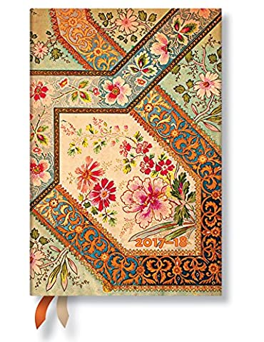 Paperblanks Bouquet on Ivory Mini 18-Month Diary 2016-2017