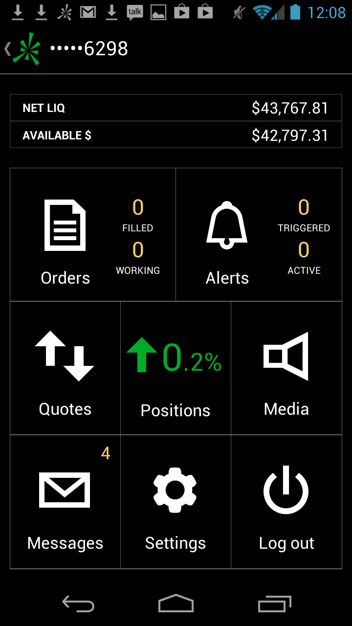 thinkorswim Mobile: Amazon co uk: Appstore for Android