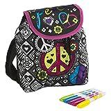 Cra-Z-Art Shimmer N' Sparkle - Juego de diseño, mochila para decorar con rotuladores, multicolor (ColorBaby 85064)