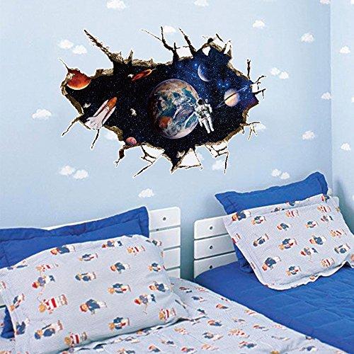 Yallylunn 3D Floor/Wall Sticker Removable Mural Decals Vinyl Art Living Room Decors Kreativen Wasserfest Ziegelstein Wandtattoo Sicherheit Und Umweltschutz