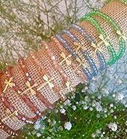 Pulsera elástica de cristales de swarovski