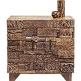 Kare Design – Kommode 2 Türen Patchwork aus Holz Überraschung Natur