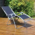 Kingfisher Gravity Garden Reclining Sun Chair Lounger