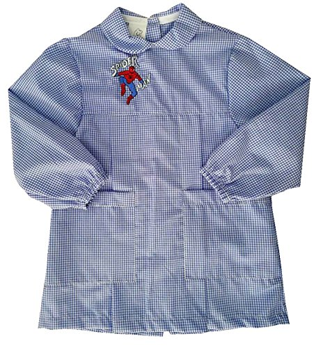 Generico grembiule asilo spiderman, baby tg. 40 (12-18 mesi)