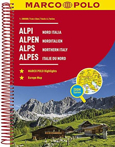 MARCO POLO Reiseatlas Alpen, Norditalien 1:300 000 (MARCO POLO Reiseatlanten) Test