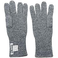 100% Kaschmir handschuhe Herren Grau, gestrickte Kaschmirhandschuhe, mongolische Kaschmir (26/2 Garn Zusammensetzung) Winterhandschuhe für Männer, Grau Kaschmirhandschuhe, Pashmina Handschuhe