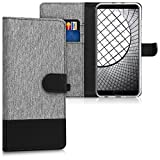 kwmobile Huawei Honor View 10 / Honor V10 Hülle - Kunstleder Wallet Case für Huawei Honor View 10 / Honor V10 mit Kartenfächern und Stand