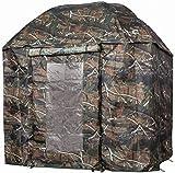 VTK Fishing-parapluie-tente di Pesca Camo 250con Porta-Shelter Oxford-Alluminio-Superior