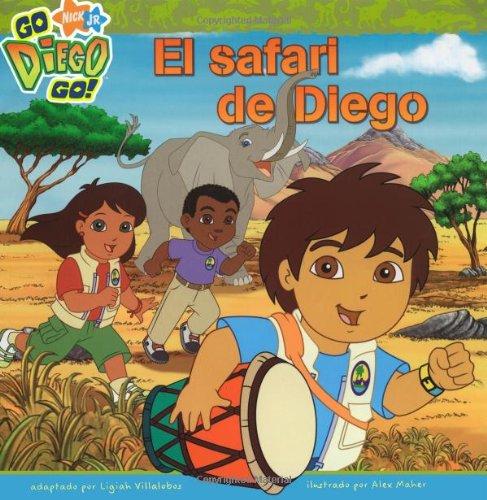 El Safari de Diego = Diego's Safari Rescue (Go, Diego, Go!) por Ligiah Villalobos