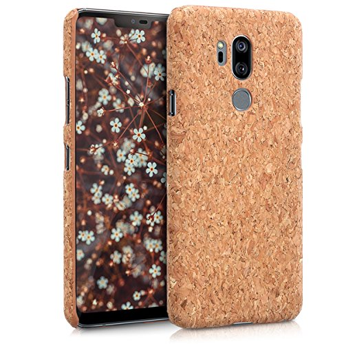 kwmobile LG G7 ThinQ/Fit/One Hülle - Handyhülle für LG G7 ThinQ/Fit/One - Handy Case Kork Cover Schutzhülle