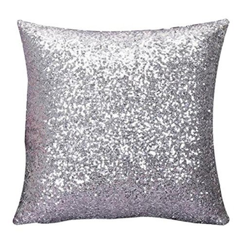 Kissenbezug,LHWY Solid Color Glitter Pailletten Throw Kissen Fall Cafe Home Decor Kissenhüllen