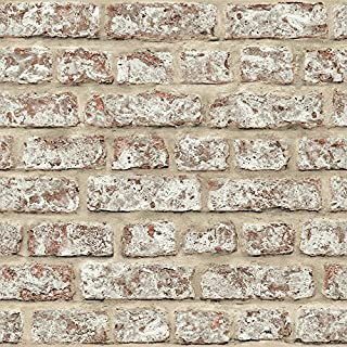 Arthouse, Rustic Brick Wallpaper, Vinyl