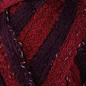 100 Gramm FRILLY Schachenmayr Rüschenschal Wolle Schalwolle mit Glitzer - Farbe esprit-color_blackberry-mix_84