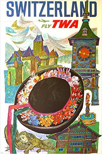 fly-twa-schweiz-vintage-travel-poster-hat-uhrturm-sammler-24-x-36