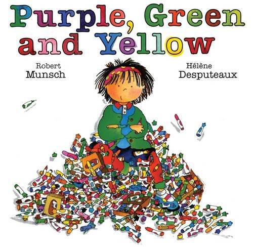 Purple, Green and Yellow par Robert Munsch