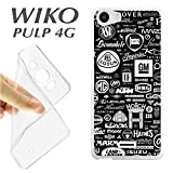 K237Case Wiko Pulp 4G Soft TPU Gel Brands of Cars Autos Spare Parts