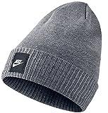 Nike Futura Beanie, Carbon Heather/Black, One Size