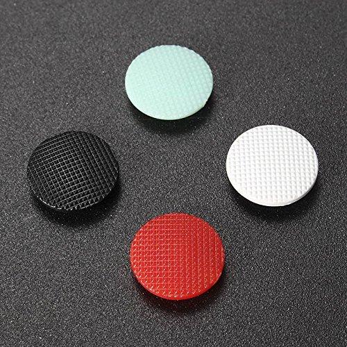 Ersatz 3D Analog Joystick Daumen Button Stick Cap Cover Griffe für Sony PSP 1000(1x Rot 1x Grün 1x Schwarz 1x Weiß) (Analog-stick Griffe)