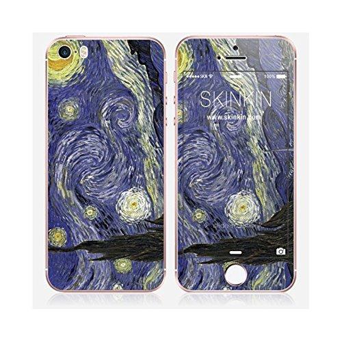 Skinkin Wandtattoo iPhone Sich von zu Hause Design Original: Die Nacht E ́ Leinwand ́ E durch Van Gogh