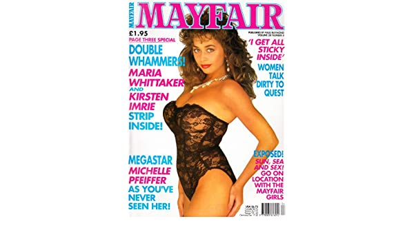 Mayfair Magazine Volume  With Kirsten Imrie And Shanine Linton Amazon Co Uk Books