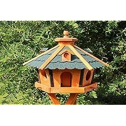 Grande Casa del pájaro, Casa pájaro De Madera Tipo 17 - Green