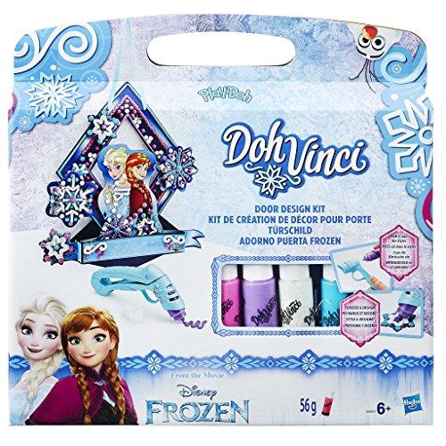 DohVinci Hasbro Play-Doh Disney Frozen Door Design Kit (B4937)