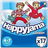 Dodot Happyjama - Pañales para niños de 4-7 años, 17 unidades