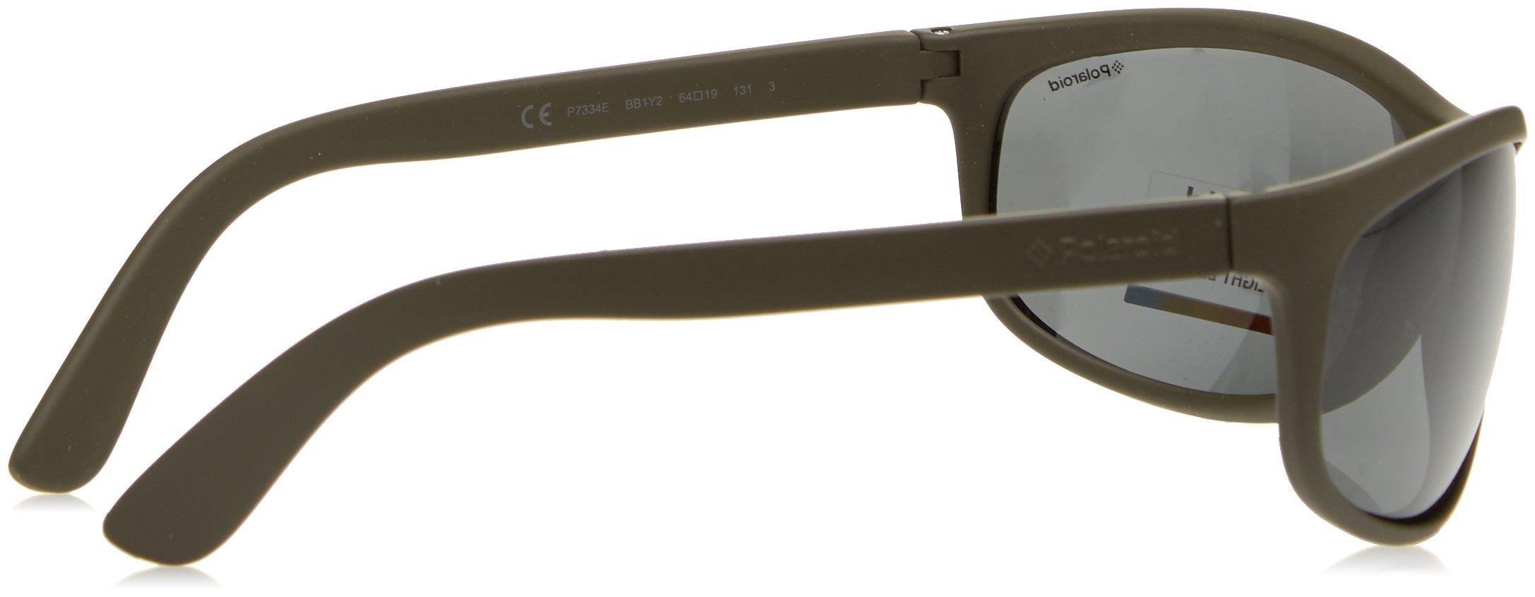 Polaroid - P7334 - Occhiali da sole Donna e Uomo Rettangolare - Polarizzati - Materiale leggero - Custodia protettiva… 3 spesavip