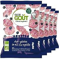 Good Goût - BIO - Mini-Galettes de Riz à la Myrtille dès 10 Mois 40 g - Lot de 5