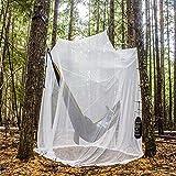 HEXhw Feinmaschiges Kasten- Moskitonetz- Perfekter Insektenschutz Mückenschutz zu Hause,200 * 200 * 180cm