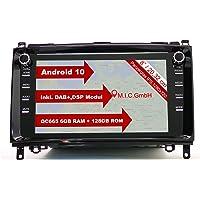 M.I.C. AB8 Android 10 Autoradio mit navi Qualcomm Snapdragon 665 6G+128G Ersatz für Mercedes Benz A-Klasse W169 B-Klasse…