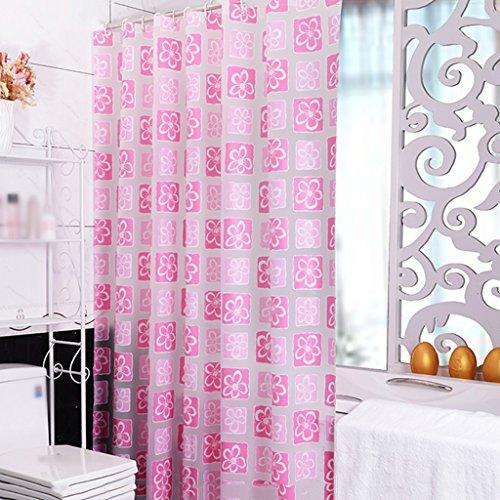 Rideaux de douche Rideau de douche PEVA Salle de bain imperméable Baignade Salle de bain Mode Cosy Belle Durable ( taille : 240x200cm )
