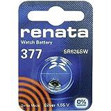 377 (SR626SW) Pila de Botón / Silver Oxide 1.55V / para Los Relojes, Linternas, Llaves del Coche, Calculadoras, Cámaras, etc / iCHOOSE