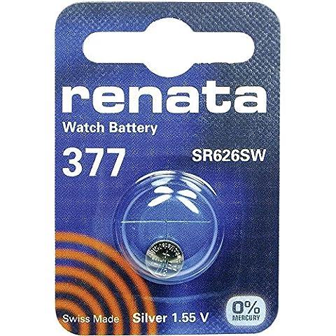 377 (SR626SW) Batterie de Pièces de Monnaie / Oxyde D'argent