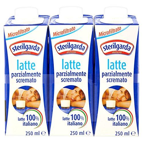 Sterilgarda Latte Uht Parzialmente Scremato Ml.250X3