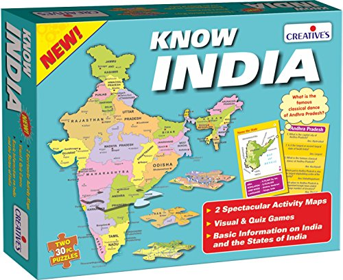 Creative Educational Aids 0720 Know India