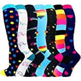 2021 nieuwe geschenken - 7 paar sport compressie sokken stretch running rit kousen kit (A)